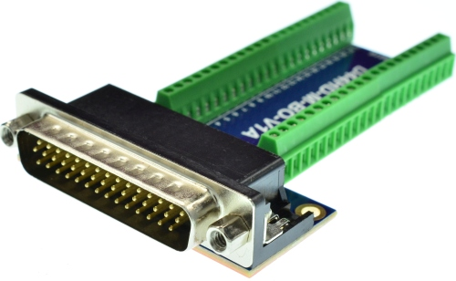 D-Sub High Density 44 DB44HD Male Connector Breakout Board