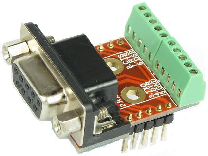 DB9 COM Port RS232 Female connector Breakout Board